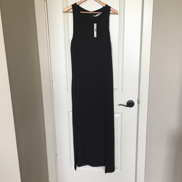 Alice + Olivia Dresses & Skirts - Alice + Olivia black maxi dress sz L NWT